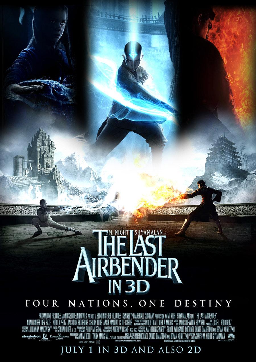 Team Movie Elites Reviews The Last Airbender 2010