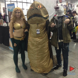 Aquawoman, Jabba & friend