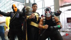 Deathstroke, Balck Adam & Bane