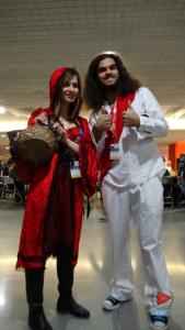 Little Red Riding Hood & Buddy Christ