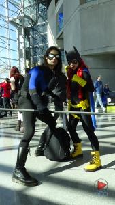Nightwing & Batgirl