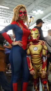 Spiderwoman & Iron Man