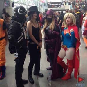 Venom, Death, Huntress & Supergirl