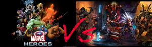 marvel VS diablo